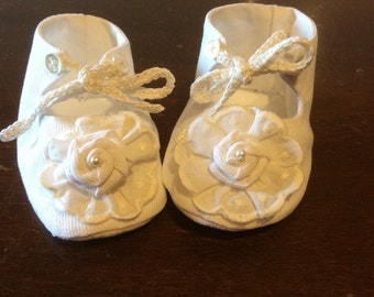 Booties for baby size 0-3 months