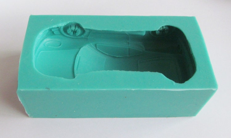 Silicone mould ferrari car sugarcraft cake by staceydecor - How to get mold out of car interior ...