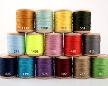Threads Serafil No.20, (60m=200ft),(6-strand twist),Additional Color ,(15 color available),Produced by Amann, Germany -LSSSG-2433