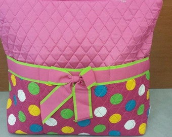 Personalized Quilted Bag