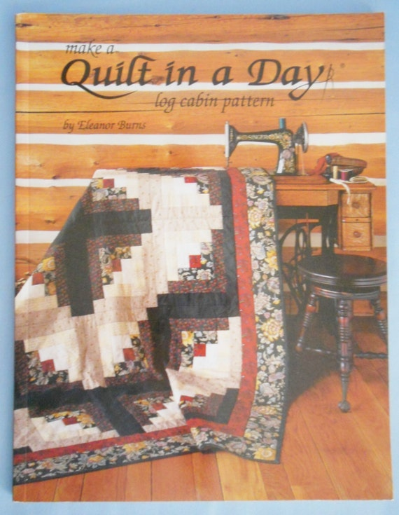 log cabin quilt instructions