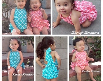 Sunsuits, rompers, choose your fabric