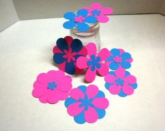 75 Scrapbook Flowers-Die Cuts, Scrapbook Supplies, Flowers, Craft Supplies, Supplies-DCF-23