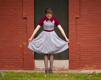 Retro School Girl Dress