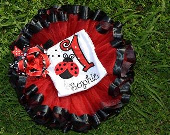 Ladybug Birthday 3 Piece Set!