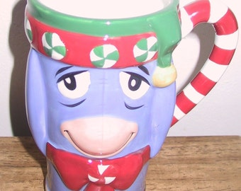 "Christmas Mug Based on the ""Winnie the Pooh"" Series"