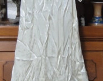 Vintage 1920's Wedding Dress/ Veil/ Slip
