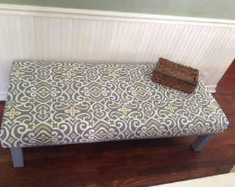 SOLD***Oversize Ottoman or bench or window seat