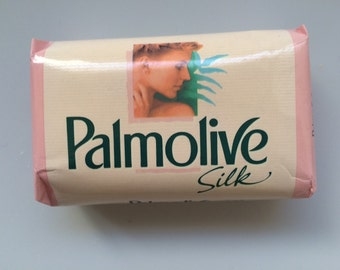 Vintage Italy Soap Bar Palmolive Silk