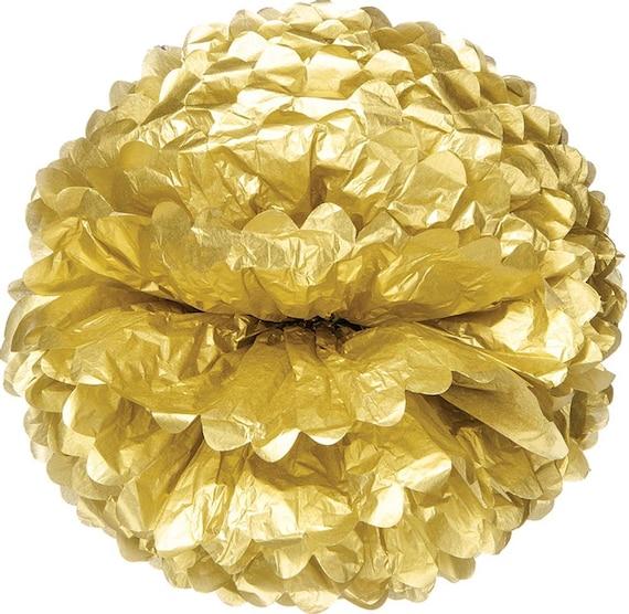 gold tissue paper
