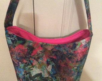 Pink Splatter Handbag
