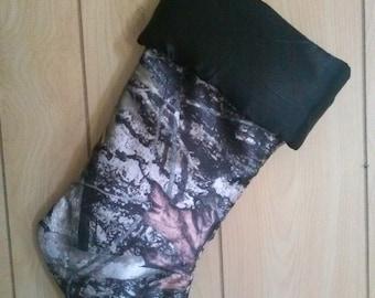 FREE SHIPPING!-Handmade true timber camo stocking ***Sale item***