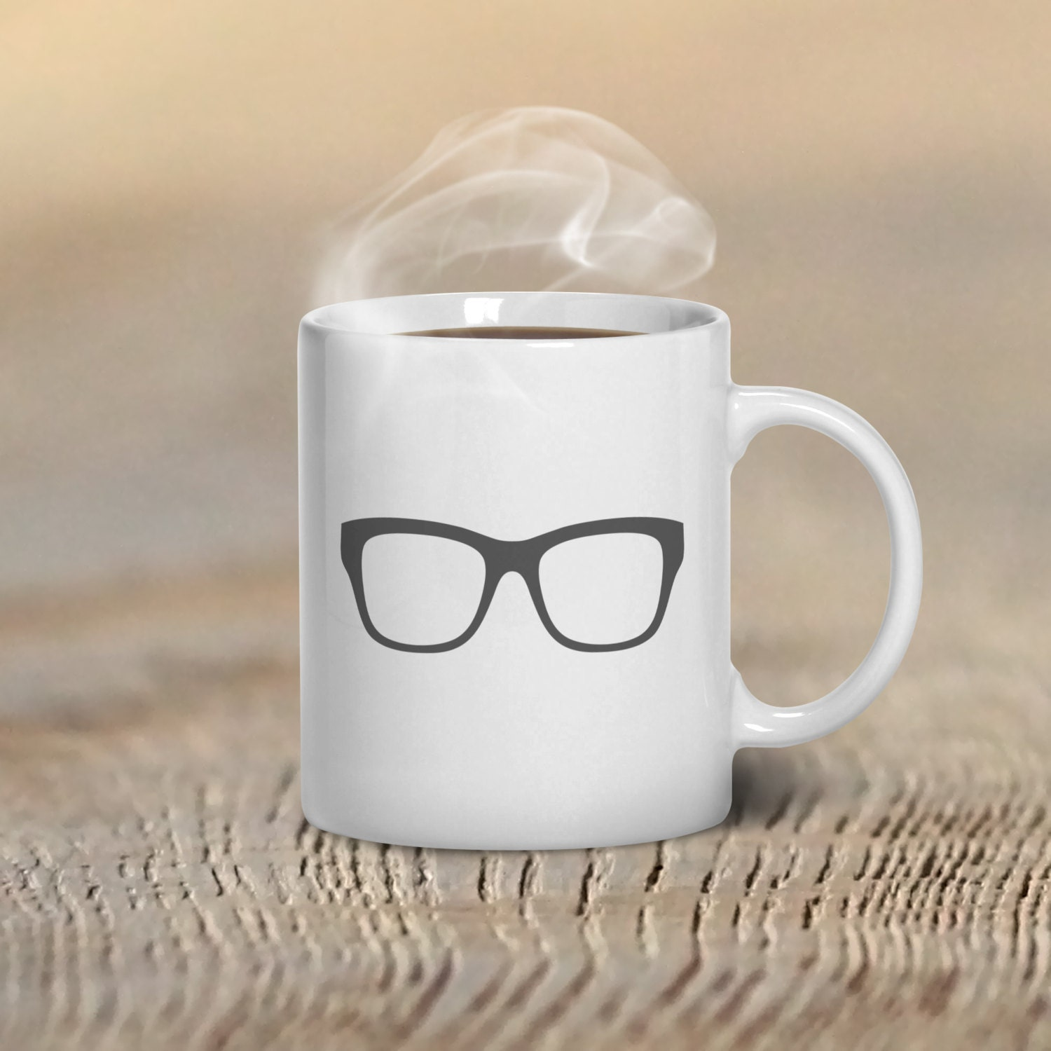 Coffee mug glasses hipster custom mug design mugs for by for Handmade mug designs