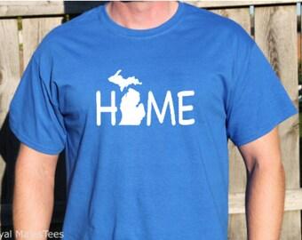 Michigan Home Shirt, Michigan Shirt, Mitten