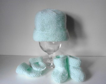 Crochet baby  mittens , booties and mittens, crochet mittens, crochet booties,newborn hat,  newborn mittens, newborn  booties,