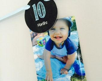 12 month birthday banner
