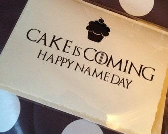 Game Of Thrones Birthday Card gangcraftnet