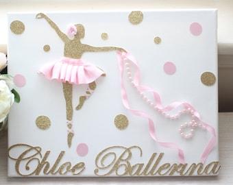 Custom Ballerina Canvas