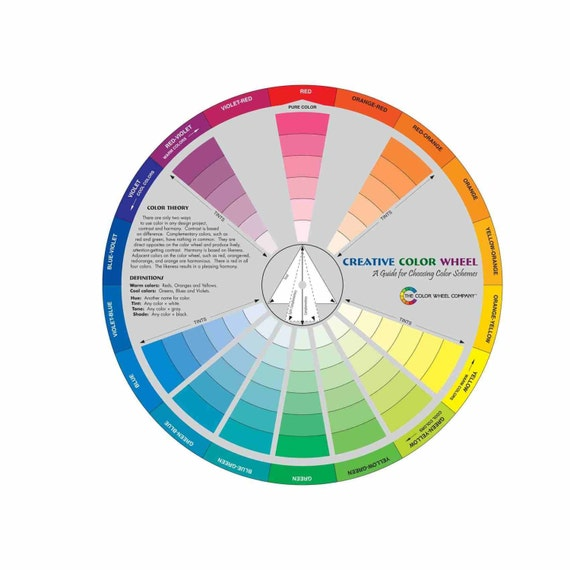 large creative color wheel mixing guide great for. Black Bedroom Furniture Sets. Home Design Ideas