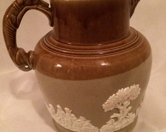 Vintage Earthenware Jug
