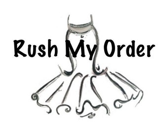 LDTutus Rush My Order Add-on Upgrade for your tutu order