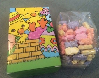Lot of 2 Vintage Avon Easter Sweetkins Fruit Flavored Candy Collectible