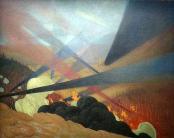 Verdun by Félix Vallotton