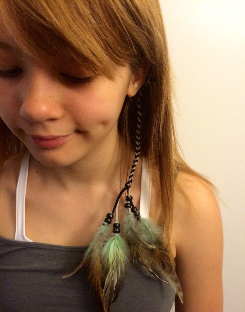 Bali Jewelry Corner Feather Hair Extension Clip In Feather Hair