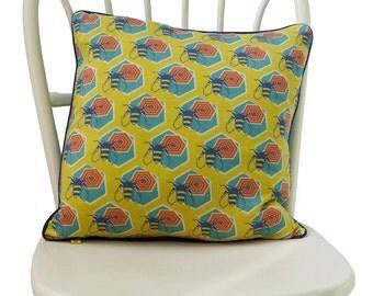 Silk Honeycomb Cushion