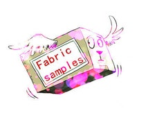 Fabric samples (containing fabric samples 140 kinds of colors)