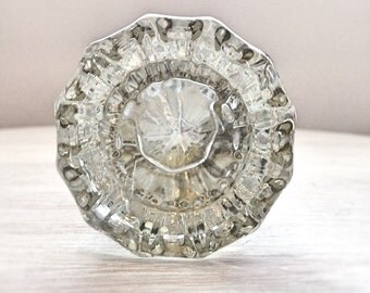 antique crystal door knobs set vintage glass door knobs glass door handle