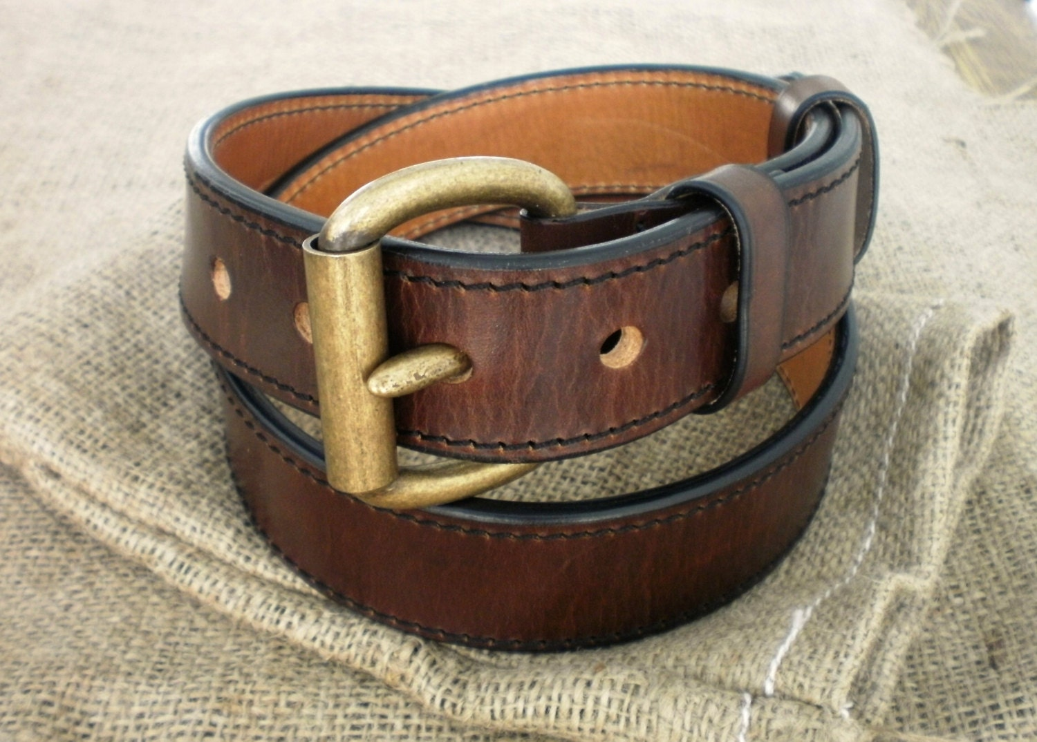 leather gun belt 1 5 heavy duty 1 4 thick