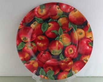 Decorative Apple Plate
