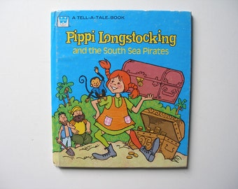 Vintage Pippi Longstocking and the South Sea Pirates 1976