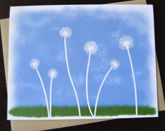 Dandelions Notecard Set