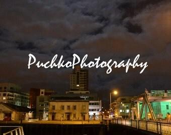 Cork, Ireland at Night