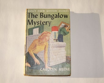 Vintage 1960 - Nancy Drew Mystery Stories the Bungalow Mystery Caroline Keene