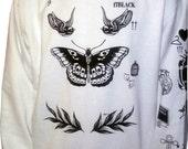 Harry Styles Tattoo Sweatshirt Sweater Jumper