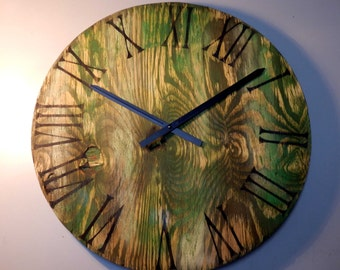 Casablanca 20'' Distressed Rustic Wall Clock | Handmade Item