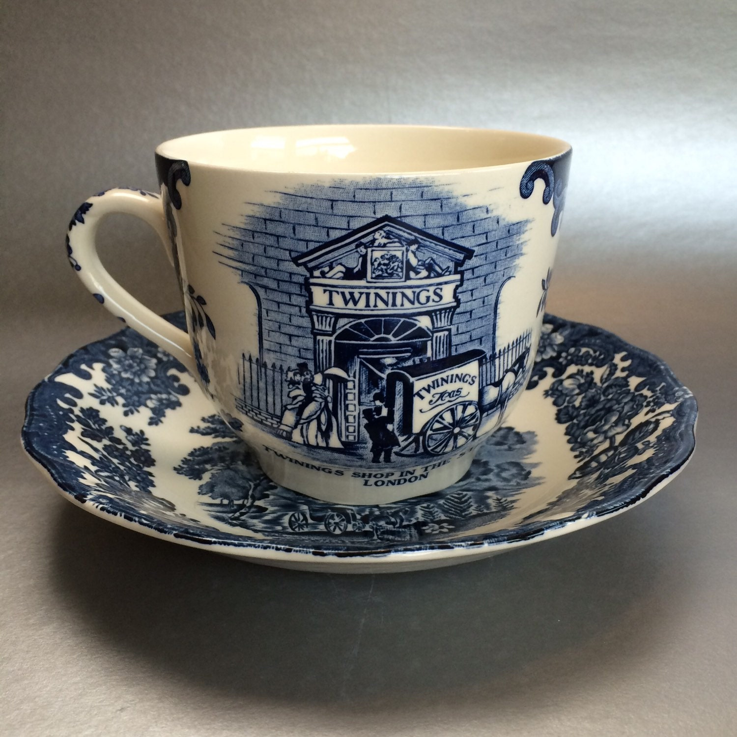 pallisy twinings oversized commemorative cup and saucer