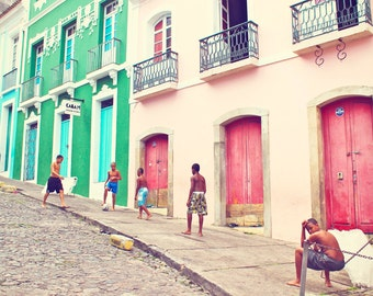 "Brazil Photography, ""Football"" Street photography,"