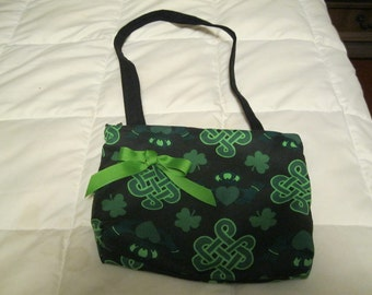 Irish Purse with Celtic Knots