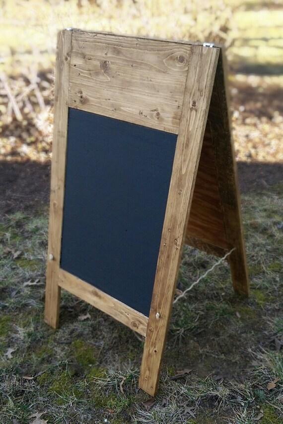 a frame chalkboard large chalkboard standing chalkboard rustic chalkboard restaurant signs wood chalkboard reclaimed wood