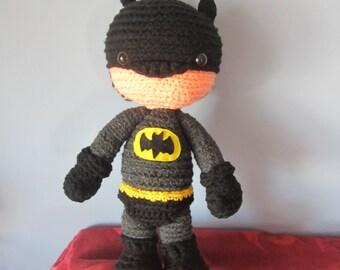 Batman doll soft toy amigurumi