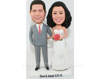 custom wedding cake topper  ,Custom cake topper , wedding cake topper Wedding Figurine
