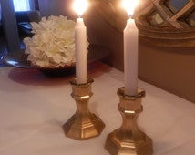 2 wedding centerpiece, wedding gold candlesticks , gold wedding decorations
