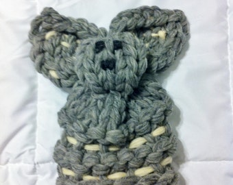 Knitted teddy for kids