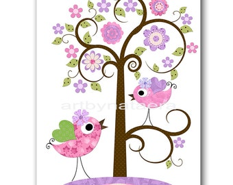 Tree Digital Download Baby Nursery Decor Instant Download Print Kids Art Baby Girl Nursery Art Kids Wall Art Children Nursery 8x10 11X14