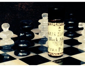 Black Musk-Fragrance-perfume oil-ritual oil-gothic perfume-vintage perfume- relaxing-sleep remedy-dreamy-gothic oil