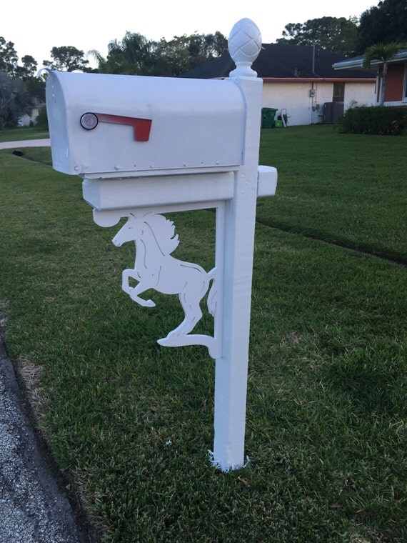 sale horse mailbox bracket large